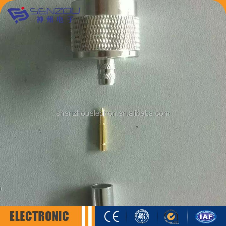 modern most popular n plug solder cable assembly pigtail