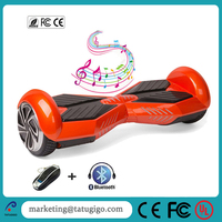 High quality cheap lamborghini design 1 year warranty smart bluetooth 2 wheel hoverboard 6.5 inch