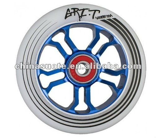 100mm STUNT PRO SCOOTER ALUMINUM CORE PU ALLOY WHEEL