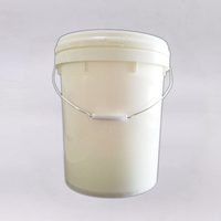 Good Quality Professional 60 Liters Round High Temperature Unbreakable Plastic Bucket With Lid