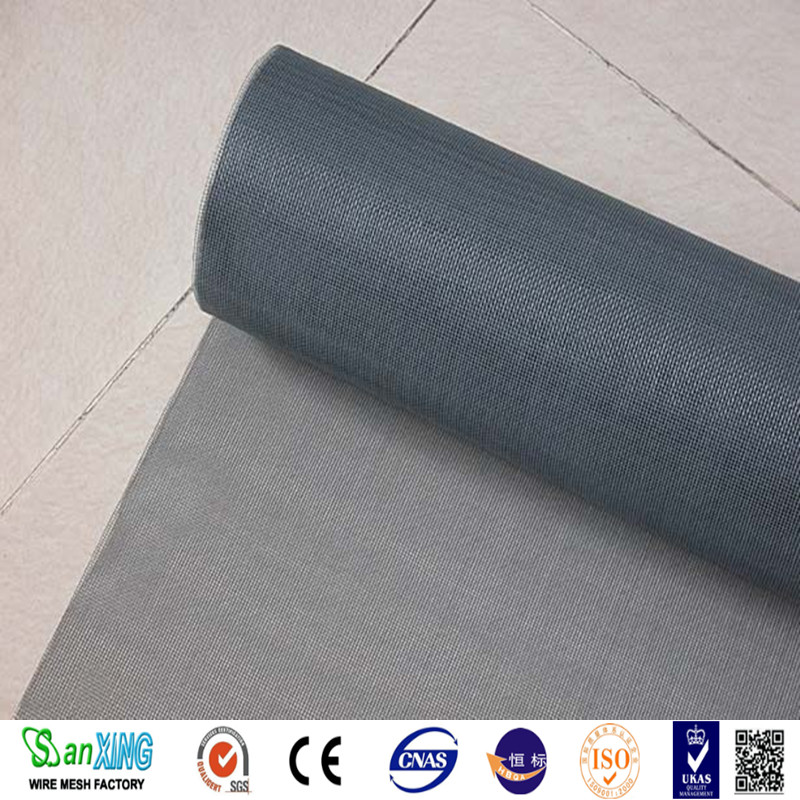 competitive price fiberglass window screen for Insect Black Grey White best quality