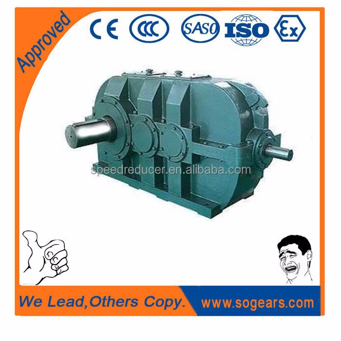 OEM industrial Inching Drive transmission gear box with ac gear drive