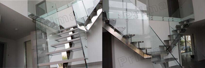 Prefabricated Stainless Steel Staircase Design Handicap Spiral Stair Rails