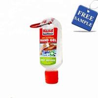 Free sample Eco-friendly instant antibacterial portable hand sanitizer