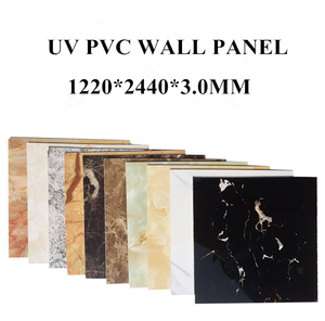 Marble Design UV Coated PVC Marble Sheets PVC Marble Wall Board