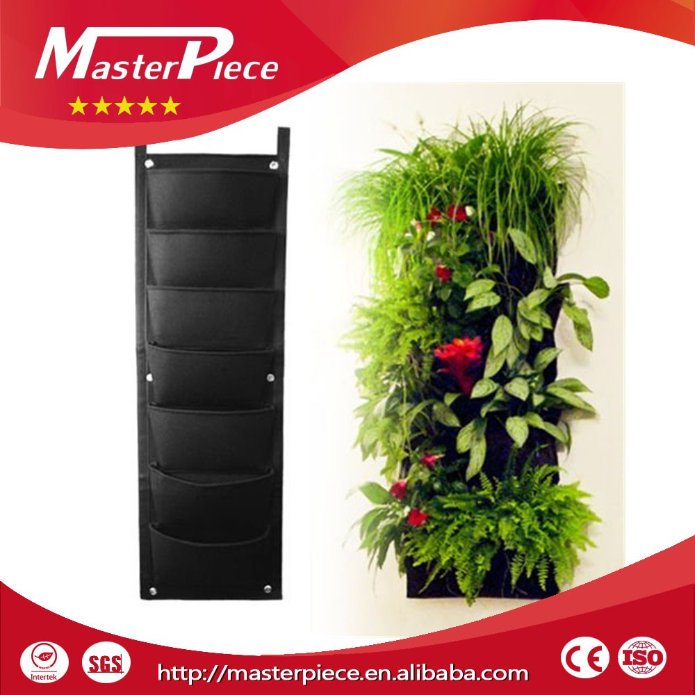 Pockets Vertical Garden Felt Planters Grow Bags Manufacturer (customize )