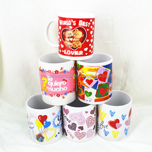 Hot sale New technology breakfast children like christmas ceramic mugs