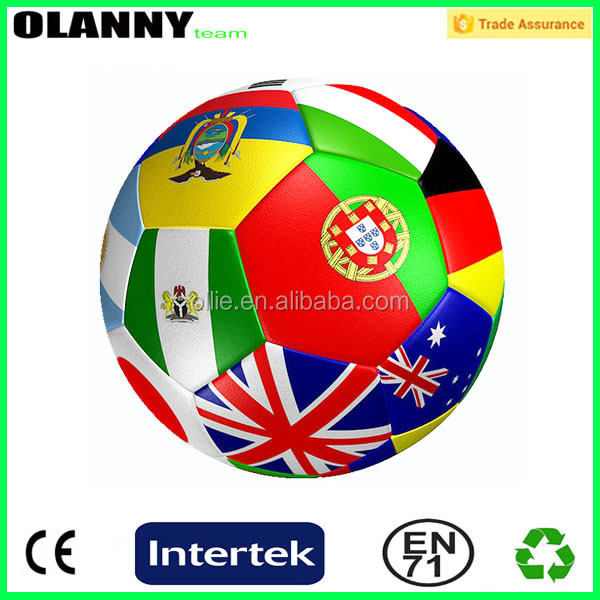 professional new soccer ball designs football design factory country flag soccer ball
