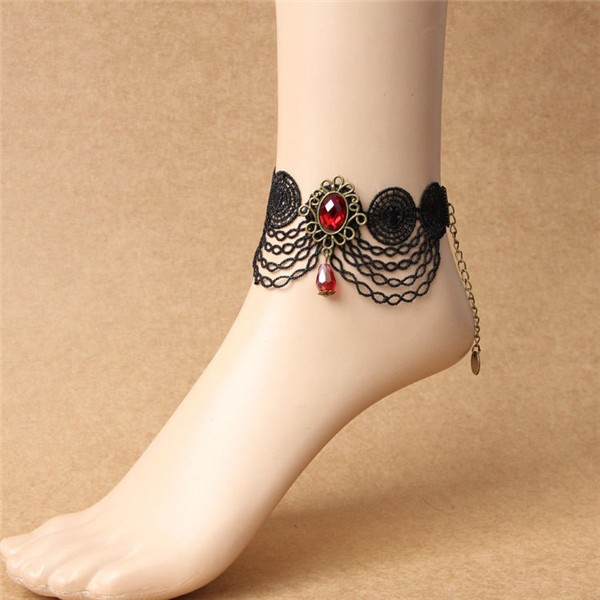 gift for at popular anklets leaves simple sale newchic tassel fashion nc anklet ball women online aadc gold