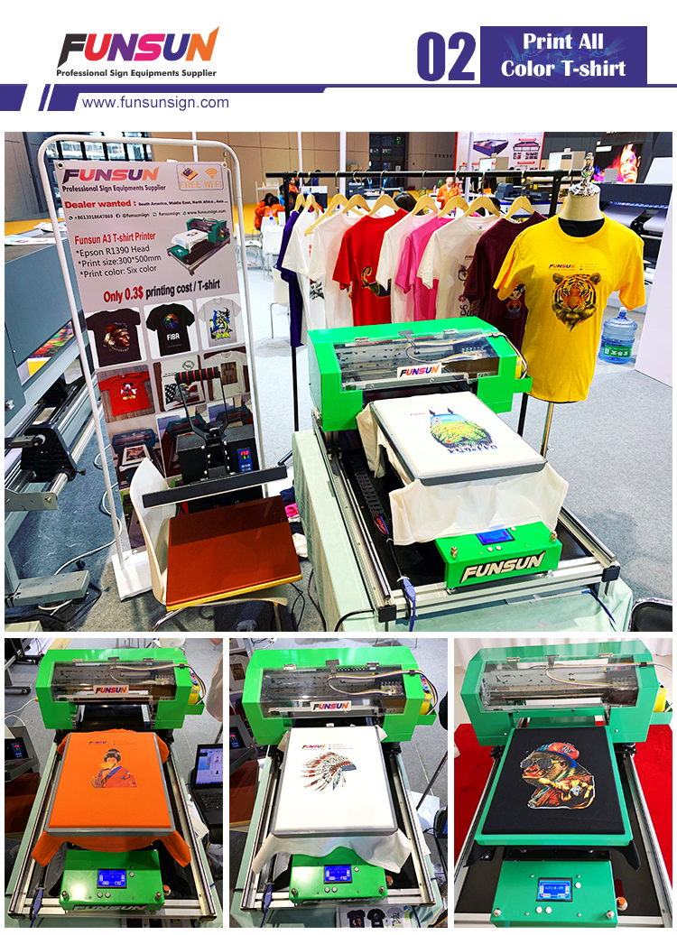 Quality Certified Big discount Digital Direct to Garment T-shirt Printing Machine
