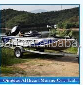 Factory Sale 4M Aluminum Hull Material Bass Boat for Fishing
