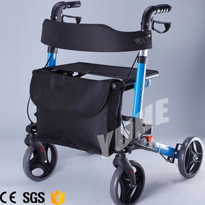 Hot Selling Mini Folding Walker For Elderly