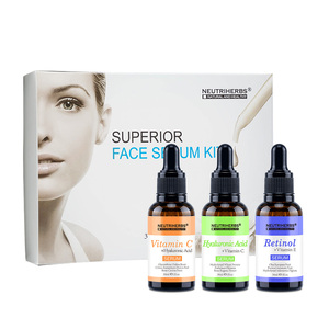 Best Gift Set Contains 20% Vitamin C Serum+5% Hyaluronic Acid Serum + 2.5% Retinol Serum for Skin