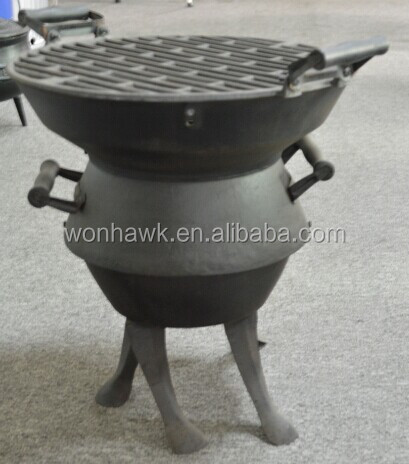 Cast Iron Barrel Bbq Barbecue Charcoal Grills, Cast Iron Barrel Bbq  Barbecue Charcoal Grills Suppliers And Manufacturers At Alibaba.com