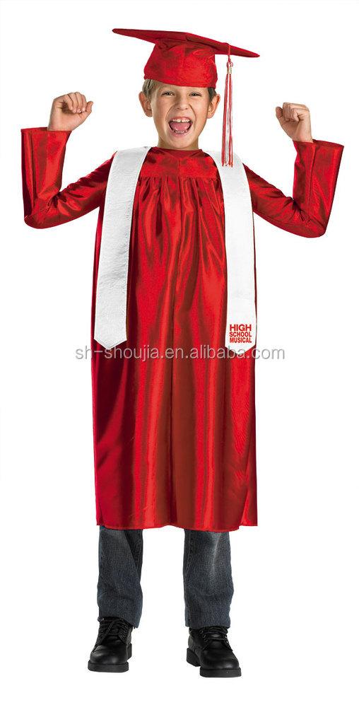 Kinder Abschlussfeier,Graduierung Kleid,Abschluss Gewand - Buy ...