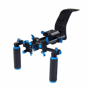 YELANGU D4 Shoulder Rig Aluminum Alloy Camera DSLR Video Camera shoulder Mount