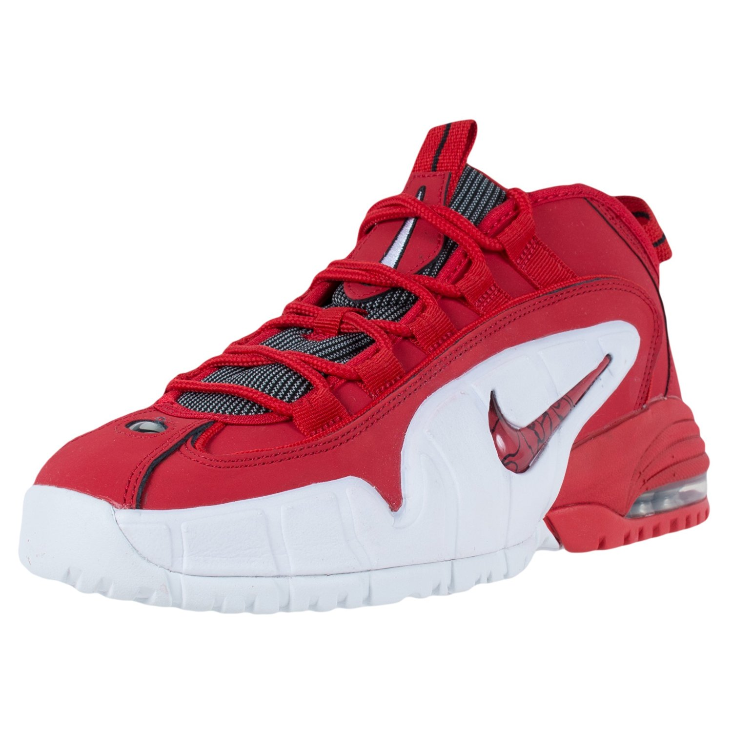 the latest 45531 2a65f Get Quotations · Nike Air Max Penny 1 (GS) University Red - White - Black  GS 4.5