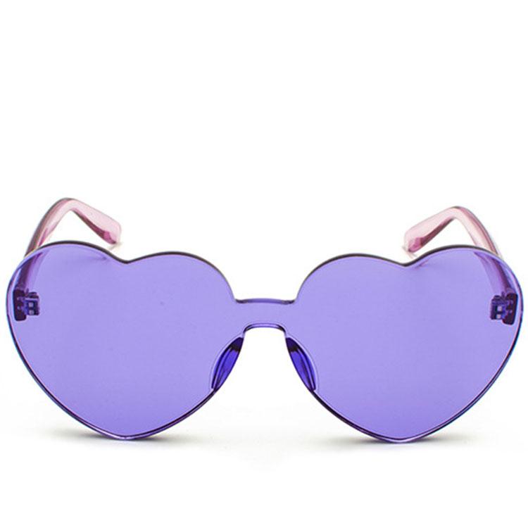 0378ec173f New Red Heart sunglasses for women 2018 trendy sun glasses love style  fashion pink yellow eyewear