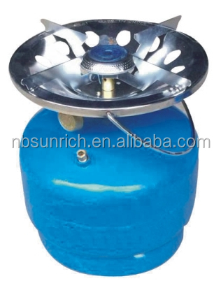 Hot Sale Good Quality Factory supply Portable for Camping Home Cook LPG Gas Cylinder