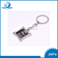Custom logo metal digital photo frame keychain