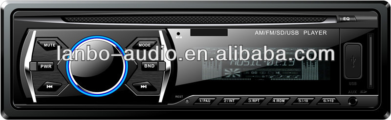 LED dispaly and lowest price/good quality car audio/usd/sd slot