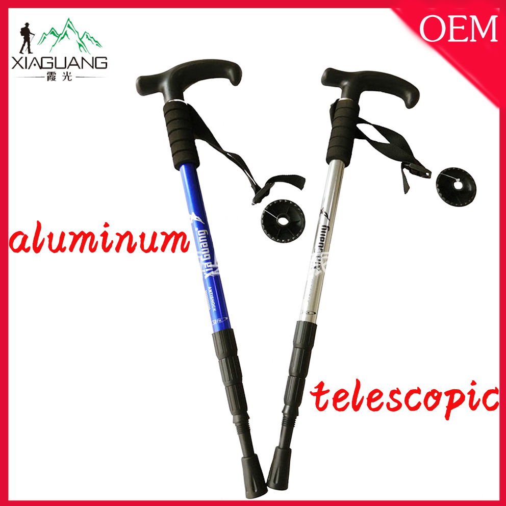 With 15 years experience aluminum with anti-shock walking stick