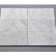 full body Italy bianco carrara white marble honed customsized marble tile for bathroom wall and kitchen backsplash