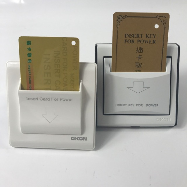 Hotel power card switch electrical switch energy saving inside card switch
