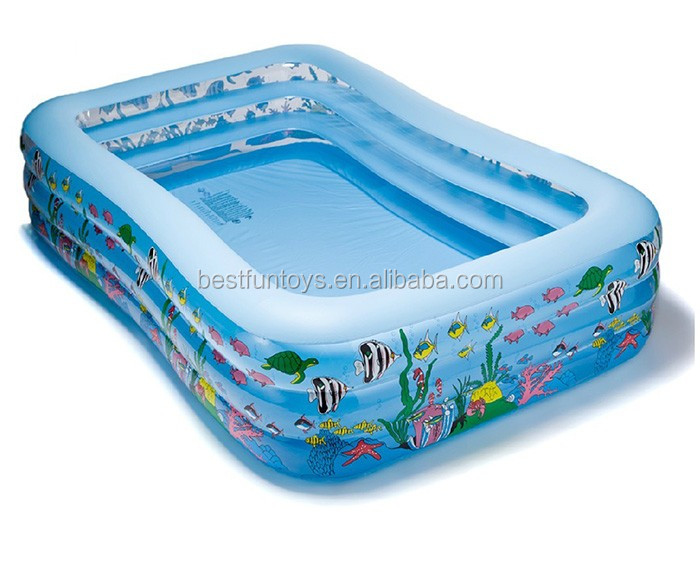 Heavy-duty Inflatable Swimming Pool Portable Large Swimming Pool Plastic  Square Swimming Pools - Buy Portable Swimming Pools,Large Inflatable  Swimming ...