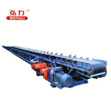 Aluminum type rubber flat belt conveyor