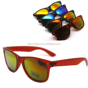 4af319cd88 reflective sun glasses cat 3 uv400 sunglasses promotional custom sunglasses