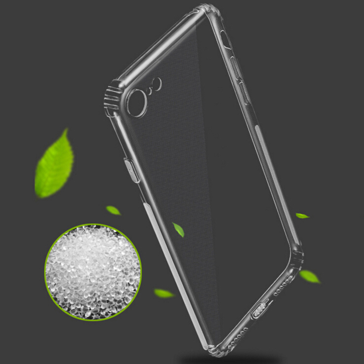 DFIFAN unique phone cases for iphone 8 8 plus , anti skidding transparent plastic case for iphone 8