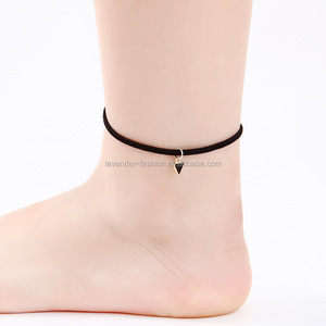 wholesale cheap leather anklet