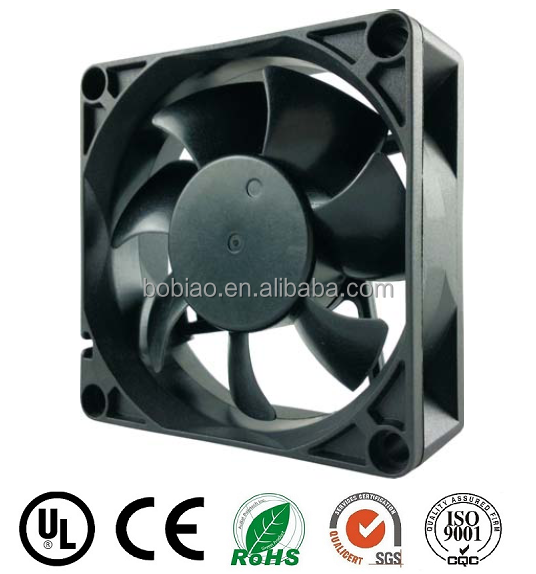 industrial exhaust fan motor blower 70*70*25mm 115v 230v 0.05a mini high velocity fan