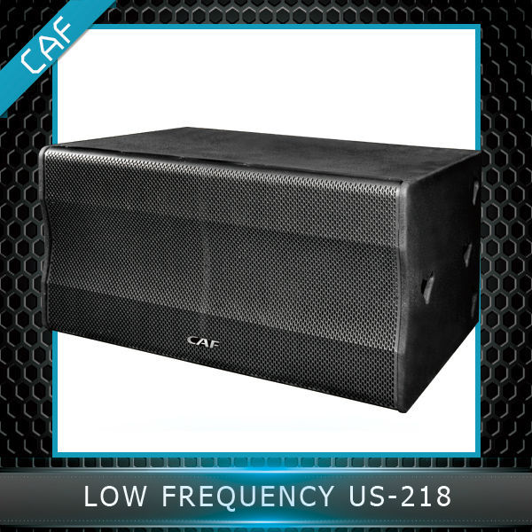 Made in China CAF brand line array subwoofer US-218 with high quality
