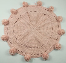 SZPLH Fashion Round Knitted Baby Mats For Playing