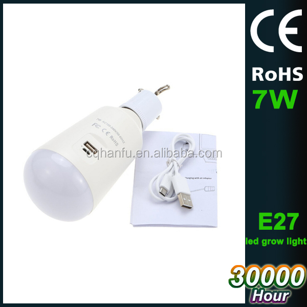 2017 ABS housing rechargeable led bulb lighting,7w led bulb manufacturing machine