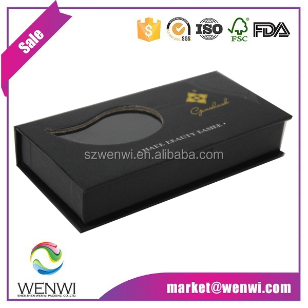 Wholesale customized eyelash packaging box
