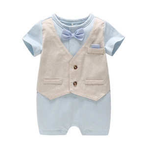 Baby Boys Summer Rompers Baby's Clothes Cotton Suit for Boys