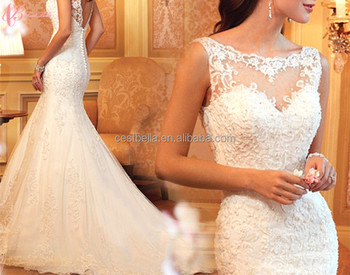 Indonesia Ruffle Patterns Romantic Angel Wedding Dress