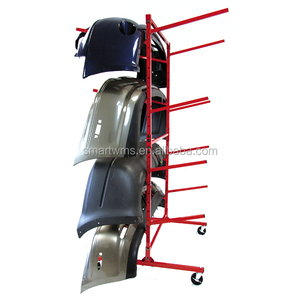 Chinese Supplier Customized Double Side Multi Level Mobile Auto Front Bumpers Storage Rack
