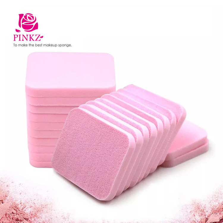 Cosmetic refillable powder puff /Non latex Pink makeup sponge puff wholesale price