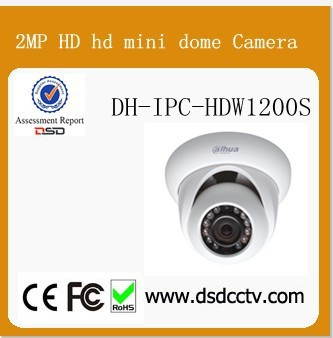 Dahua external camera for mobile phone R Mini Dome Camera DH-IPC-HDW1200S