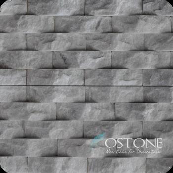 Cheap 3d Cladding White Decorative Wall Stone/quartz Stone Veneer ...