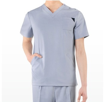 Anti-wrinkle High Quality Nurse Scrubs Uniform for Nurse