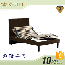 Konfurt Slat Adjustable Bed Head and Foot Up Down with Board