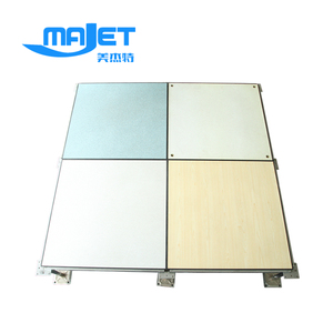 HPL/PVC steel Raised Access Floor tile Price size:610*610mm
