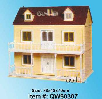 Victorian Doll House Dollhouse Miniature Scale 1:12 Model Kit