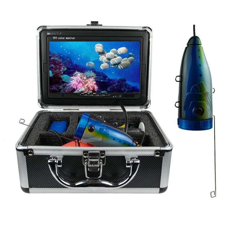 Deep water fishing camera video recording waterproof fish finder F2-S