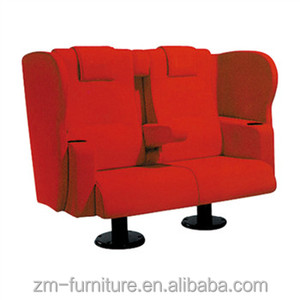 Home Theater Sofa / Movie Theater Seating / Soft Fabric 3D Cinema chair